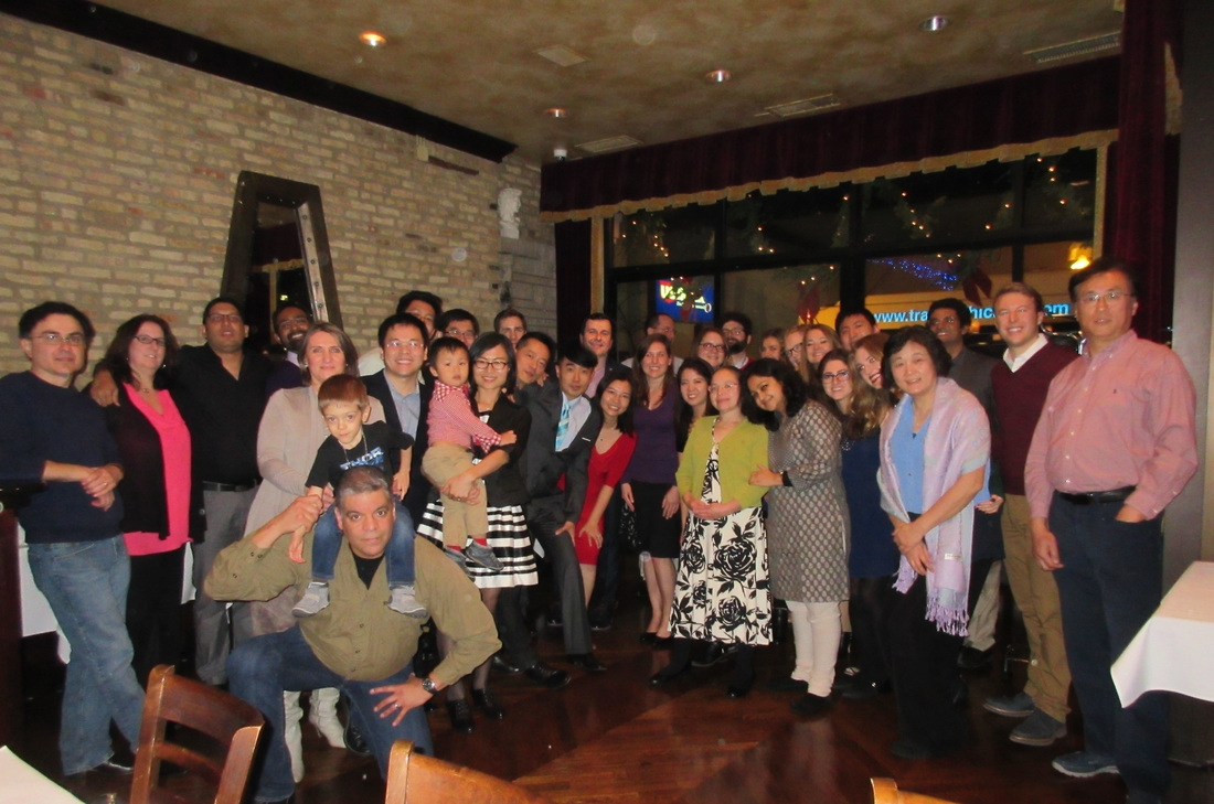 Holiday Party 2015 - A Neuro-Oncology Laboratory at